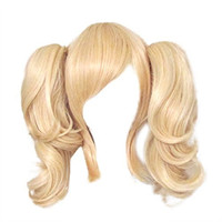 Dream2Reality Cosplay Code Geass Lelouch of the Rebellion Anya Alstreim 2 Ponytails, 35cm Blonde Japanese Kanekalon Wigs