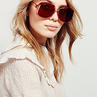Replay Vintage Sunglasses Womens Layla Oversized Sunnies
