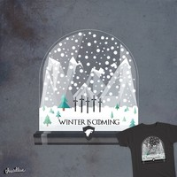 Winter is coming on Threadless