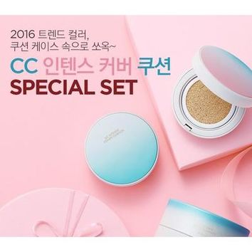 THE FACE SHOP CC Intense Cover Cushion SPF50+ PA+++ SPECIAL SET