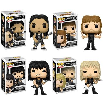 Funko Metallica POP! Vinyl Figure Set of 4