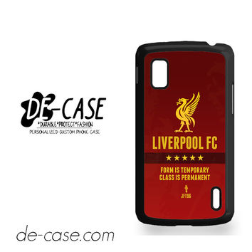 Liverpool Fc For Google Nexus 4 Case Phone Case Gift Present YO