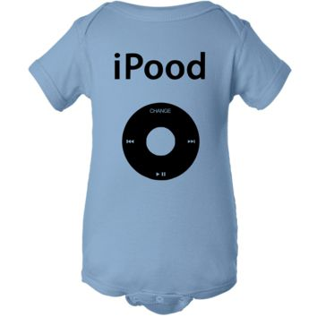 """iPood"" Creeper Baby Onesuit"