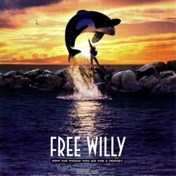 Free Willy 27x40 Movie Poster (1992)