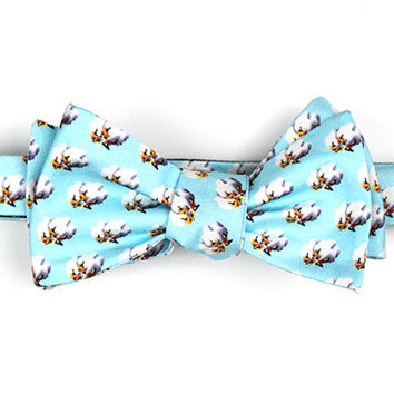 True Cotton Bow (Light Blue)