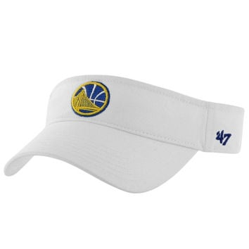 Golden State Warriors '47 Brand Women's Visor - White