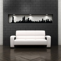 New York City Skyline - Vinyl Wall Art Decal