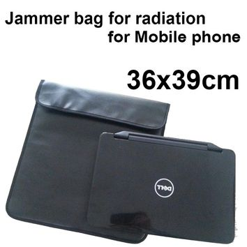 "Anti-Scan Card bag ok for phones or for 14"" notebook function of radiation blocker bag& anti tracking anti-spy secret jammer bag"