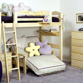 Wilber Hall Twin Size Loft Bed