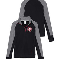 Florida State University Ultiamte Half-Zip - PINK - Victoria's Secret