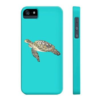 Sea Turtle iPhone 5/5s/5se Slim Personalize Case Mate Slim iPhone Cases
