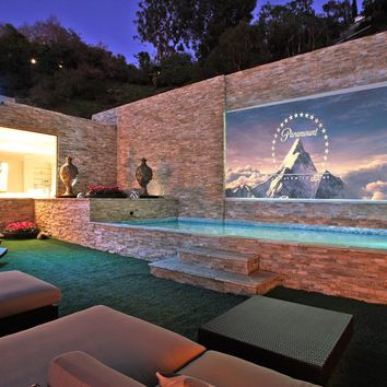 Elite Screens ER120WH1 Sable Fixed Frame Projection Screen