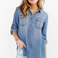 BDG Chambray Button-Down Shirt