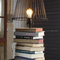 Home - Living Room / Stacked-Books Table Lamp : Decorating : Home & Garden Television