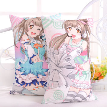 Japanese Anime Love Live Minami Kotori Hugging Body Back Pillow Lovelive Cute Cartoon Cushion Plush Fabric