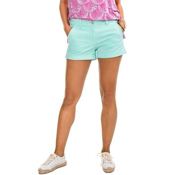 "3"" Leah Short in Offshore Green by Southern Tide"