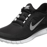 Nike Free Run+ 3 Women's Shoes Black/Grey/Silver