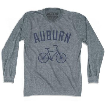 Auburn Vintage Bike T-shirt Long Sleeve