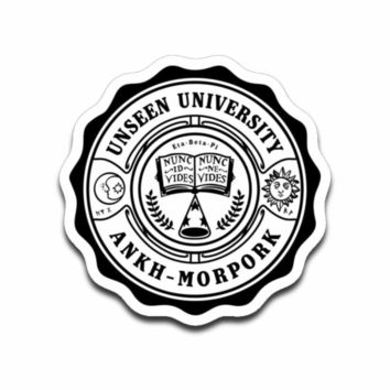 Invisible University Sticker Decal