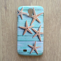 Starfish on wood iphone 6 case / iphone 6 plus case / Samsung galaxy S6 case // Samsung galaxy S5 case // iphone 4 5 5S 5C, S4 note 3 note 4