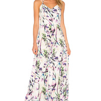 Amanda Uprichard Mallorie Maxi Dress in Orchid | REVOLVE