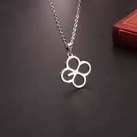 Youpop KPOP EXO EX'ACT Monster Lucky One Chain Pendant Necklace 2016 K-POP Accessories Jewelry For Men Or Women Boy Girl XL156