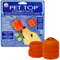 PET TOP PORTABLE DRINKING COMBO PACK
