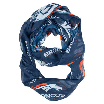 Denver Broncos Infinity Scarf - Alternate