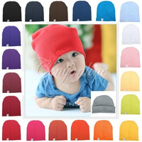 Unisex Cotton Beanie Hat for Cute Baby Boy/Girl Soft Toddler Newborn Infant Cap = 1930130628
