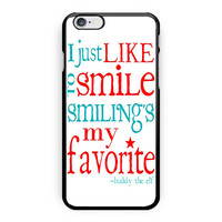 Christmas Elf Quote 2 iPhone 6 Plus Case