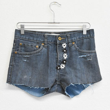 Daisy Trim Reworked Shorts