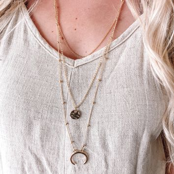 Moving On Necklace