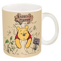 Winnie the Pooh and Eyore Ceramic Coffee Mug Set. Set of 2 Full Sized Mugs.