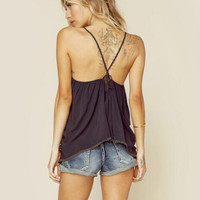 Plain Strappy Cami 10051