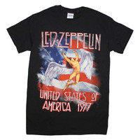Led Zeppelin Men's America 1977