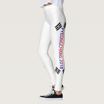 PyeongChang 2018, South Korea, Leggings