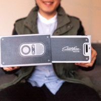 Gee-Whiz Smartphone Projector - The Photojojo Store!