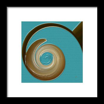 Blue Motion Framed Print By Ben And Raisa Gertsberg