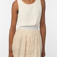 UrbanOutfitters.com > Pins and Needles Lurex & Lace Dress