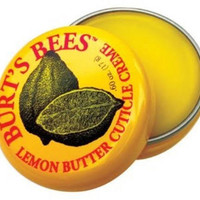 Burt's Bees Cuticle Cream, Lemon Butter, 0.6 oz, Multi