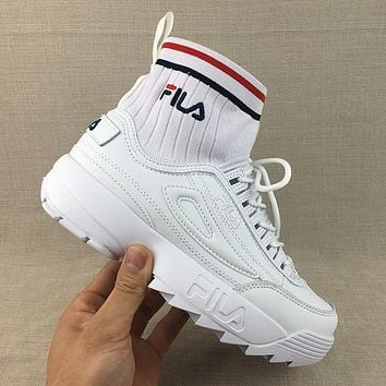 FILA Woman Men Fashion Trending Sneakers Running Sports Shoes