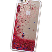 GLITTER RAIN IPHONE 5 CASE - RUBY RED – tibbs & BONES