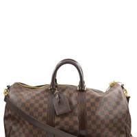 Louis Vuitton Keepall 45 Damier Ebene Bandoulière (Retail $2140)