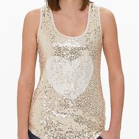 Women's Sequin Tank