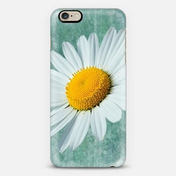 Daisy Head iPhone 6 case by Alice Gosling | Casetify
