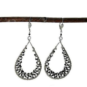 Cubist Droplet Earrings - India