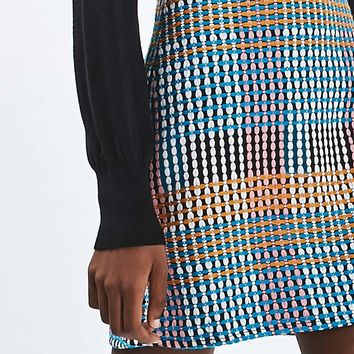 Woven Craft A-Line Mini Skirt | Topshop