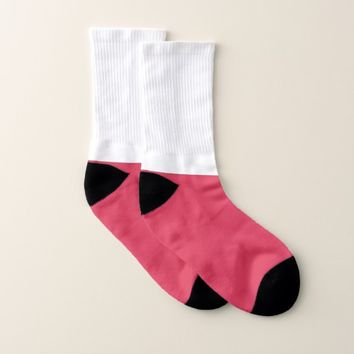 All Over Print Socks with Flag of Poland