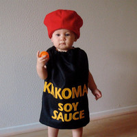 Kikkoman Bottle Kids Costume by NotTheKitchenSink on Etsy