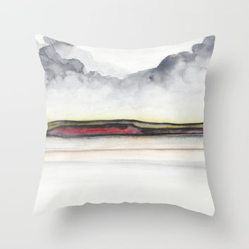 A 0 35 Throw Pillow by marcogonzalez